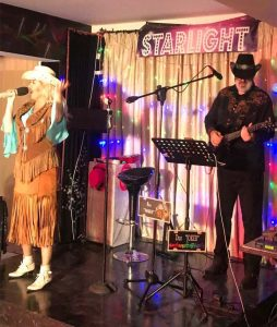 Dolly and Kenny 3, Sunflower bar, Paphos, Cyprus, 06.04.2018.