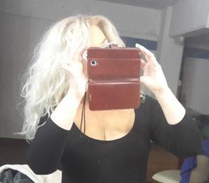 Selfie ala plavuša